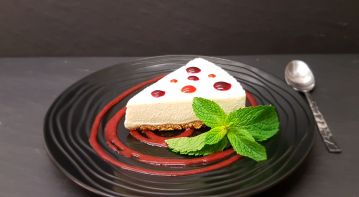 cheese cake vanille Bourbon