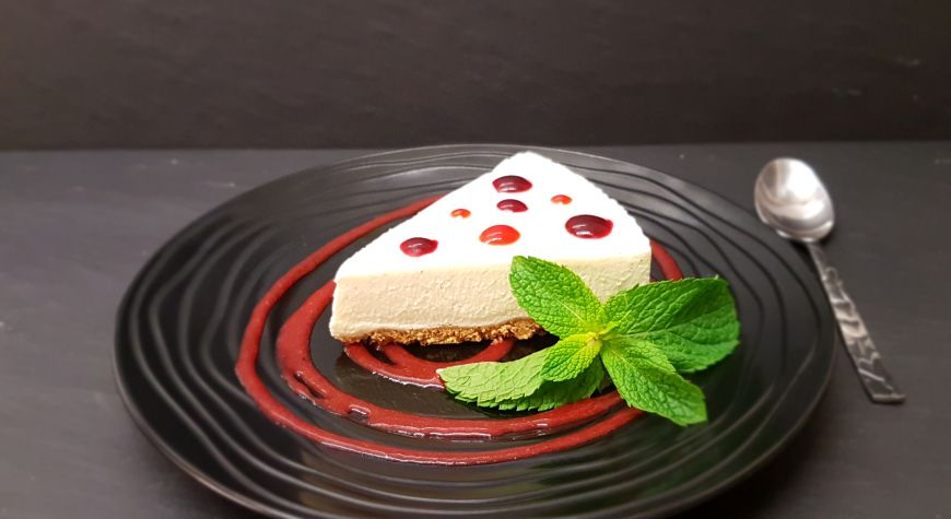 cheese cake vanille Bourbon